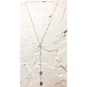 Elongated Y Drop Necklace