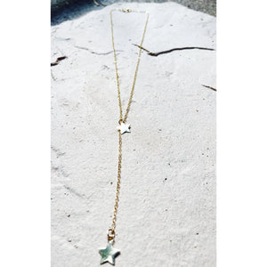 Star Charm, Y Drop Necklace