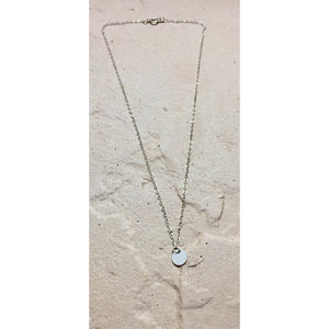 Circle Disc Necklace