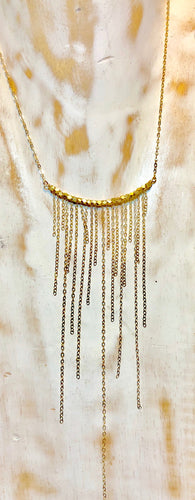 waterfall cascade necklace
