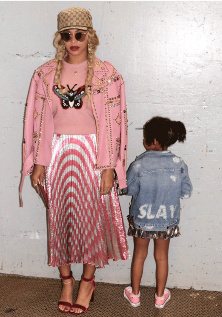 BEYONCE & BLUE IVY: TOP 5 LOOKS