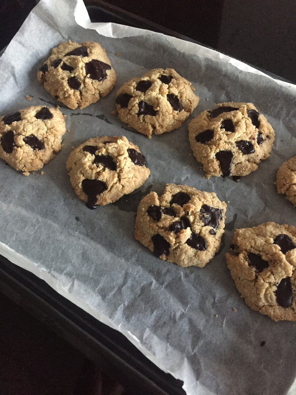 NOT SO GUILTY CHOCOLATE CHIP COOKIES