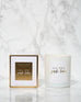 Naomi Joy Living Christmas Candle - All the Jingle Ladies - Mineral Wax Candle in Winter Spice - Pic Pop
