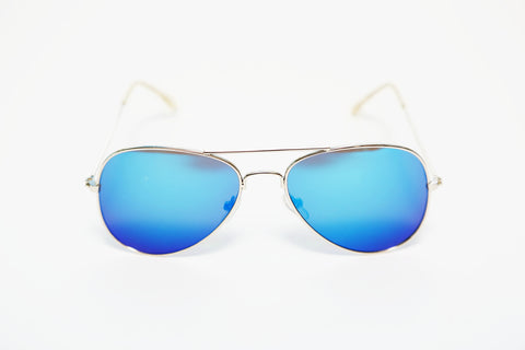 PicPop Kids 'Phoenix' Aviator Sunglasses - Blue - Pic Pop