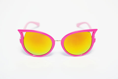 PicPop Kids 'Sisi' Cat Eye Sunglasses - Pink - Pic Pop