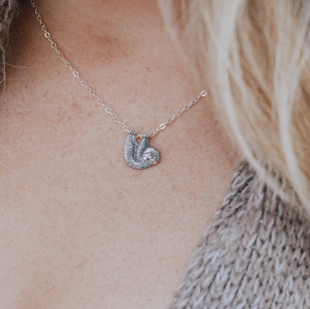 Sloth Charm Necklace