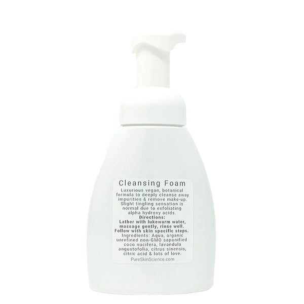 Cleansing Foam with Coconut, Lavender & Orange (All Skin Types)