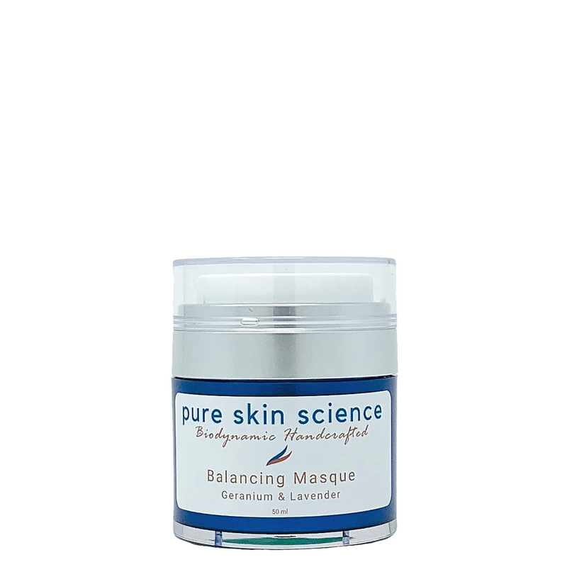 Balancing Masque (All Skin Types) / Aromaterapy Facial Masqe / French Yellow Clay / Geranium / Lavender