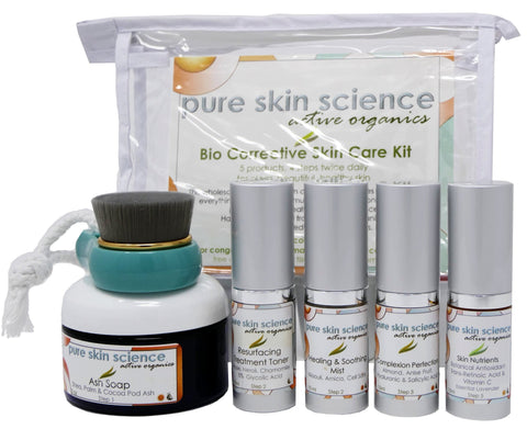 Bio Corrective Travel Skin Care Kit (Impure/Damaged/Acne/Mature Skin Types)