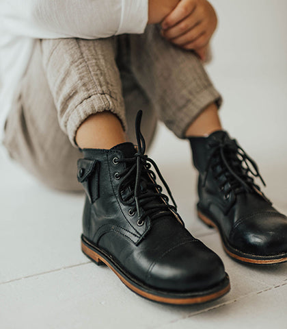 FW2019 Look Book: Leather Boots & Shoes by Mikoleon LLC