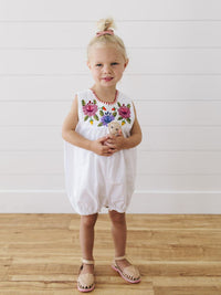 MW148 - Mercadito Romper Embroidered
