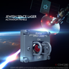 JEWISH SPACE LASER ACTIVATION PANELS - Concord Aerospace OPTION 2 - SINGLE PANEL - ON/OFF Concord Aerospace Concord Aerospace SPACE SWITCH - SINGLE
