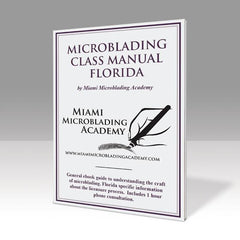 Microblading Class Manual Florida