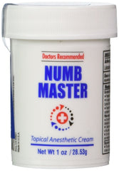 1oz Numb Master Topical Numbing Creme for Microblading