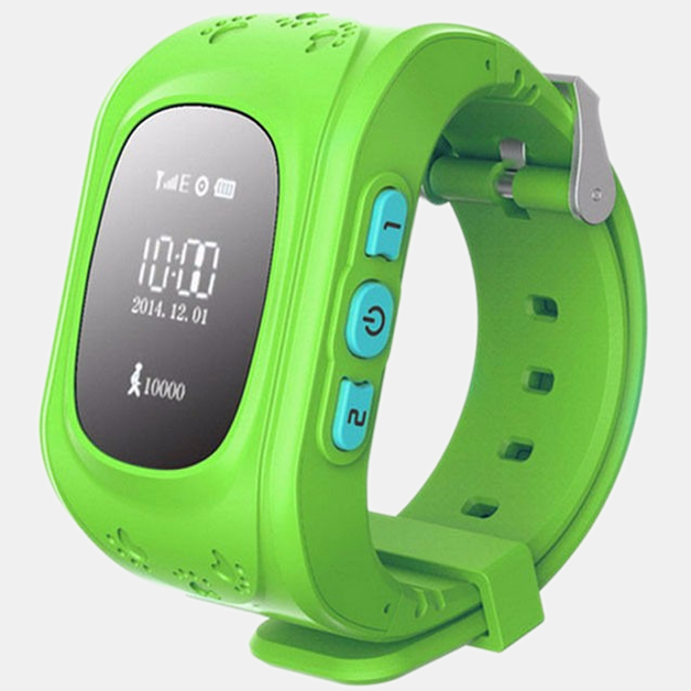 GPS Smart Kid Tracker Wristwatch