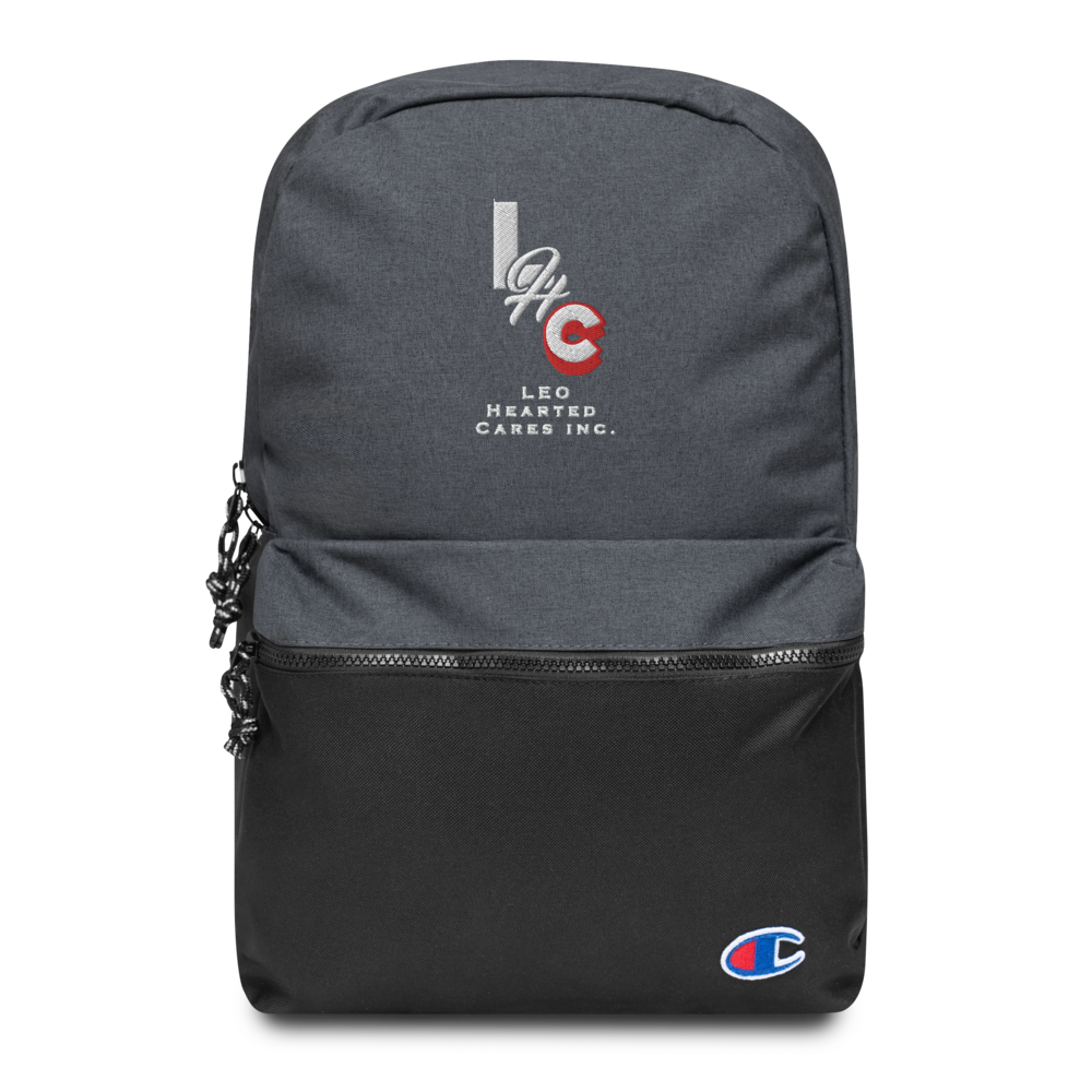 LHC - Accessory - Embroidered Logo Champion Backpack