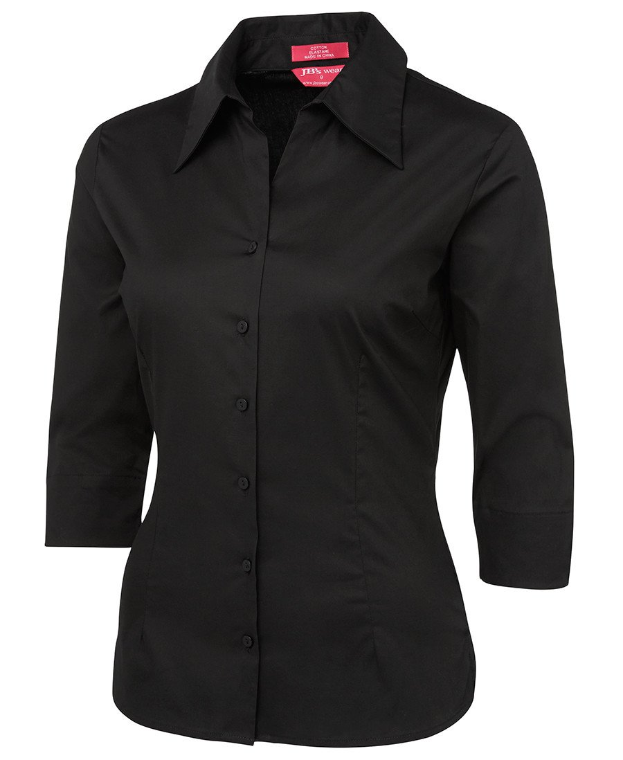 BWC4LF3 Ladies 3/4 Fitted Shirt
