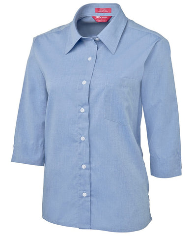 BWC4LSLT Ladies Original 3/4 Fine Chambray Shirt