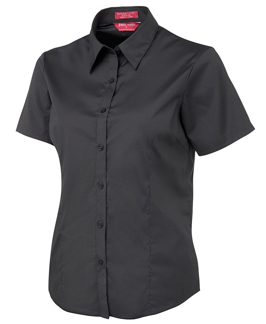 BWC4PLUS Ladies Urban S/S Poplin Shirt