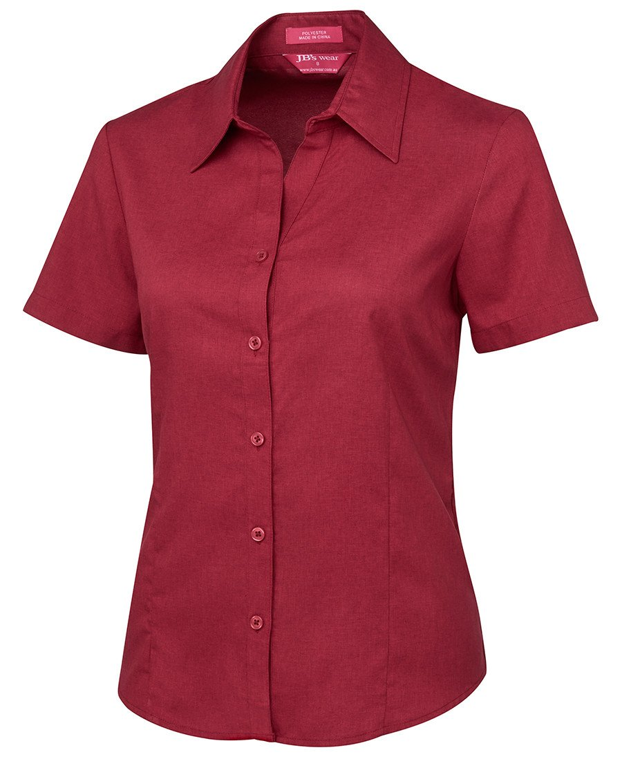 BWC4PSS1 Ladies S/S Polyester Shirt