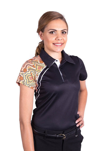BWCUSTPOLOW4 Womens Polo Shirt