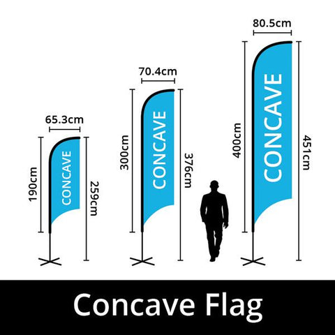 BWSFLAGCCAVE Concave Flag