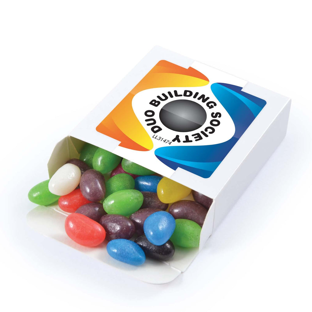 BWP Assorted Colour Jelly Beans in 50 gram Box