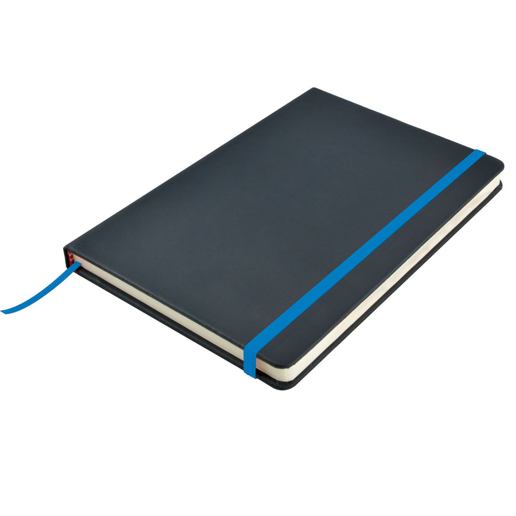 BW5087 Venture A5 PU Notebook with Elastic Closure