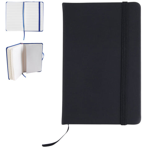 BW5099 Notebook with Elastic Band & Expandable Pocket