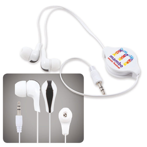BW6151 Zen Retractable Earbuds / Headphones