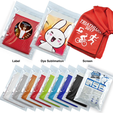 BW8370 Chill Cooling Towel in Pouch