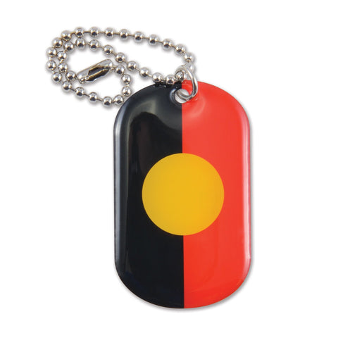 custom-dog-tag-key-chain-aboriginal-indigenous