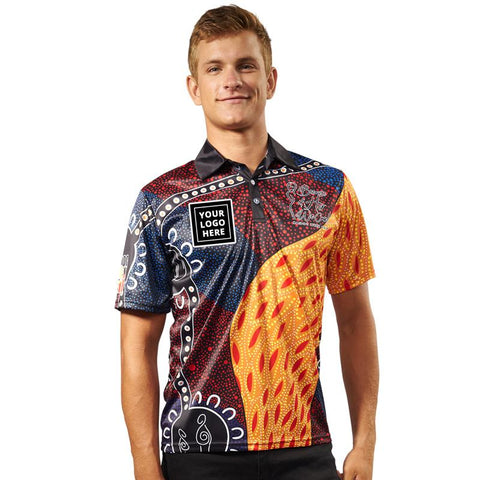 NAIDOC Week 2018 Custom Indigenous Polo with Logo A Tribute To My Mother