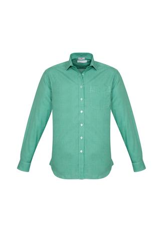 BWS716ML Mens Ellison Long Sleeve Shirt