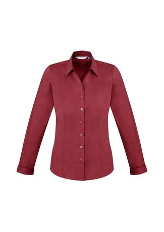 BWS770LL Ladies Monaco Long Sleeve Shirt