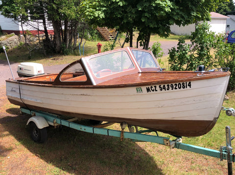 1959 Lyman 16.5' Outboard/Runabout (Price Reduced)