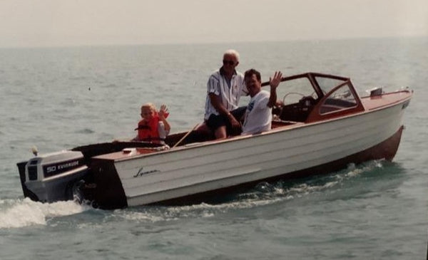 1957 Lyman 17' Outboard/Runabout