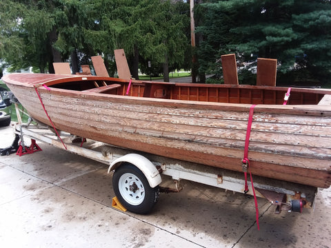 1957 Lyman 16.5' Outboard/Runabout
