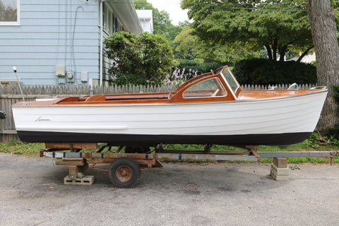 1960 Lyman 15' Outboard/Runabout