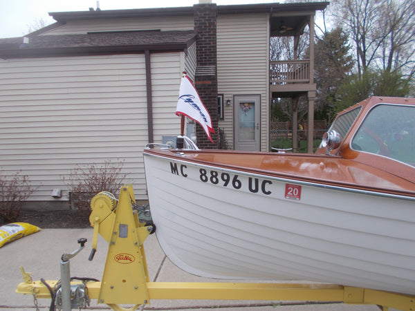 1956 Lyman 15' Outboard/Runabout