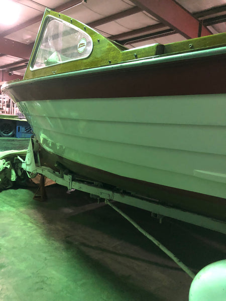 1962 Lyman 16' Outboard/Runabout