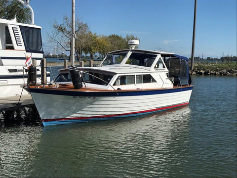 1967 Lyman 30' Express Cruiser