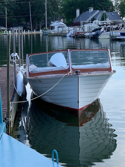 1961 Lyman 18' Outboard/Runabout