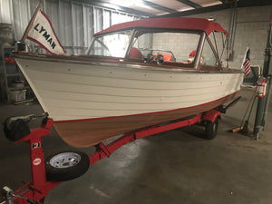 1961 Lyman 18' Outboard/Runabout (Price Reduced)