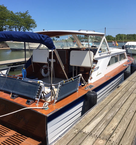 1967 Lyman 30' Express Cruiser (Price Further Reduced and Motivated to Sell)
