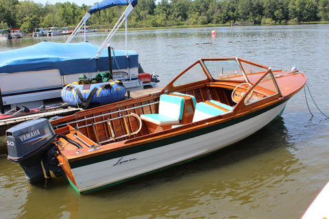 1961 Lyman 16' Outboard/Runabout