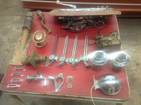Parts from a 1961 21' Lyman Runabout