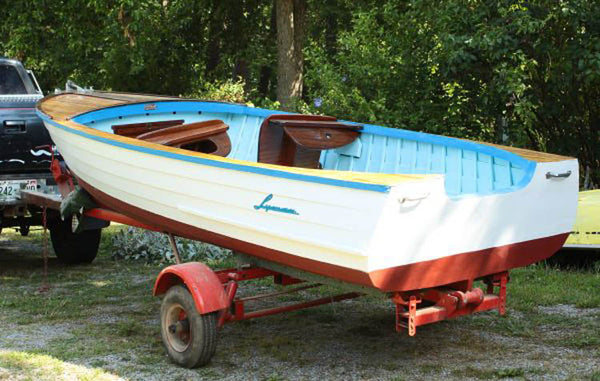 1960 Lyman 13' Outboard/Runabout