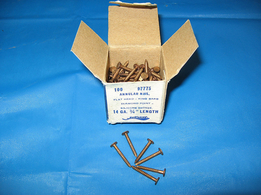 ¾ inch 14 gauge Bronze Decking Nail