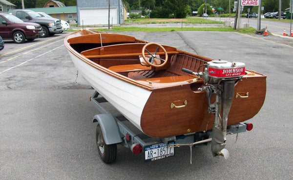 1938 lyman 15 39 outboard runabout koroknay marine llc for Runabout boats with outboard motors